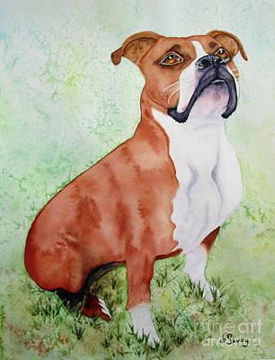 Painting - Sadie by Diane DeSavoy