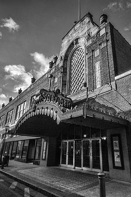 Digital Art - Saenger Theater by Michael Thomas