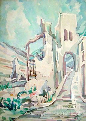 Orthodox Painting - Safed  Israel by Shirl Solomon