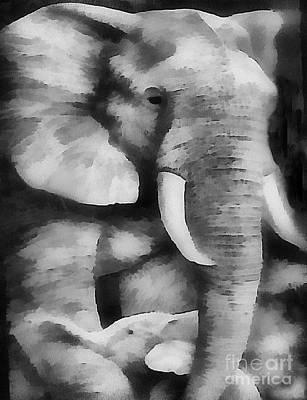 Painting - Safari Africa Fine by Scott B Bennett