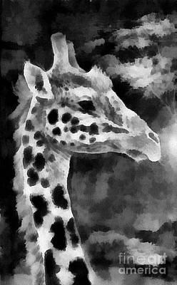 Painting - safari africa III by Scott B Bennett