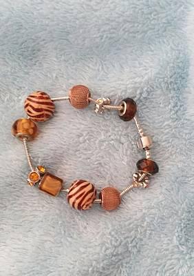 Copper Bracelet Photograph - Safari Bracelet by Pamela Smale Williams