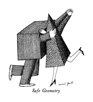 Geometry Drawing - Safe Geometry by Mimi Gnol