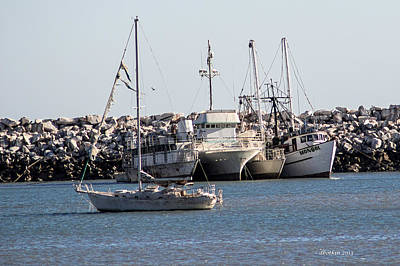 Photograph - Safe Harbor by Dick Botkin