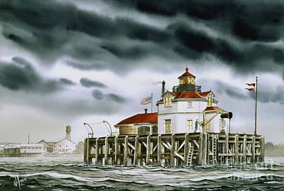 Safe Harbor Painting - Safe Harbor Light by James Williamson