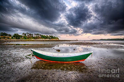 Fort Stark Photograph - Safe Harbor by Scott Thorp