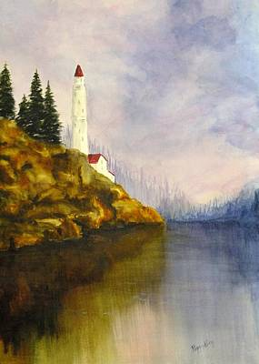 Painting - Safe Harbour by Peggy King