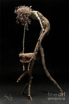 Tendrils Mixed Media - Safe Haven by Adam Long
