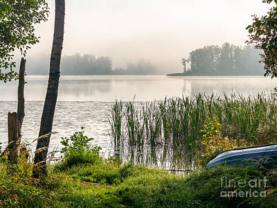 Photograph - Safe Haven At The Lake Enajarvi by Ismo Raisanen
