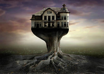 Mansion Photograph - Safe House by Ben Goossens