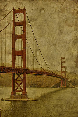 Golden Gate Bridge Photograph - Safe Passage by Andrew Paranavitana