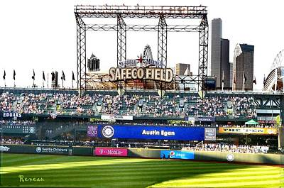 Photograph - Safeco Field In Seattle Washington by Sadie Reneau