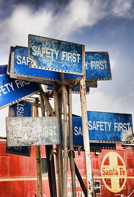 Photograph - Safety First by Peggy Hughes