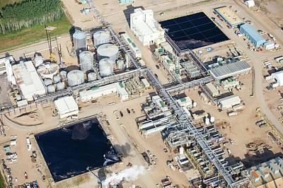 Destruction Photograph - Sag D Tar Sands Plant by Ashley Cooper