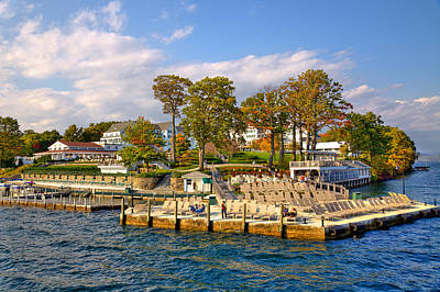 Photograph - Sagamore Hotel - Lake George by David Patterson