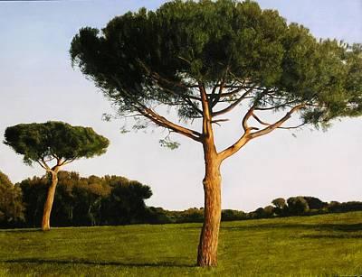 Painting - Sagaro Spain by Thomas Darnell