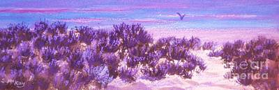 Painting - Sage At Sunset by Suzanne McKay