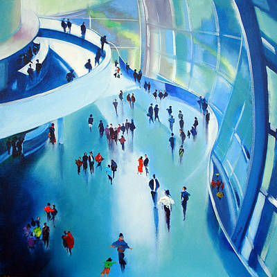 People Painting - Sage Gateshead by Neil McBride