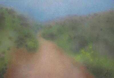 Sagebrush And Coastal Fog Art Print by Robin Street-Morris