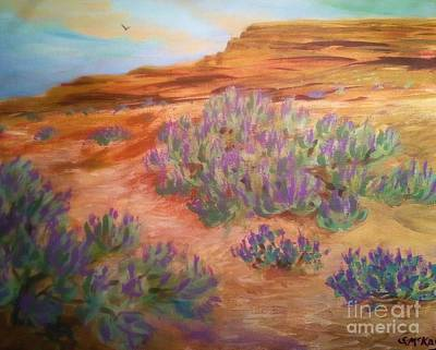 Painting - Sagebrush In Spring by Suzanne McKay