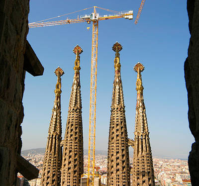 Photograph - Sagrada Familia Barcelona by Mathew Lodge