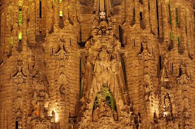 Sagrada Familia Art Print by Ioan Panaite