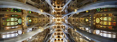 Photograph - Sagrada Familia Panorama 3 by Jack Daulton