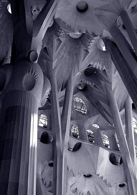 Photograph - Sagrada Familia Vault by Michael Kirk
