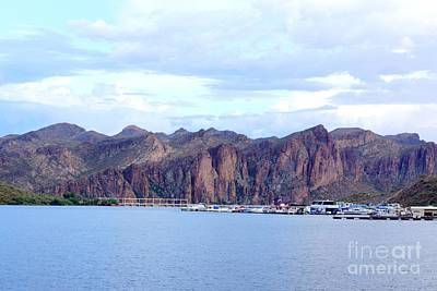 Photograph - Saguaro Lake by Kerri Mortenson