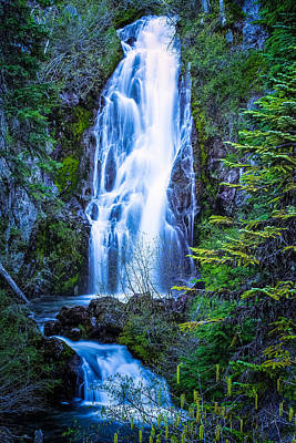 Photograph - Sahalie Falls by Thomas Hall