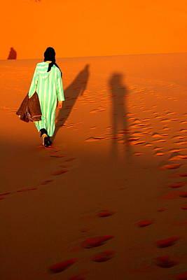Sahara Desert Bedouin Art Print by Arie Arik Chen