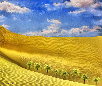 Rossidis Painting - Sahara Desert by George Rossidis