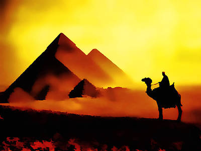 Egypt Digital Art - Sahara by Fellow Store