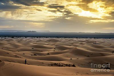 Moroccan Photograph - Sahara Sunrise by Yuri Santin