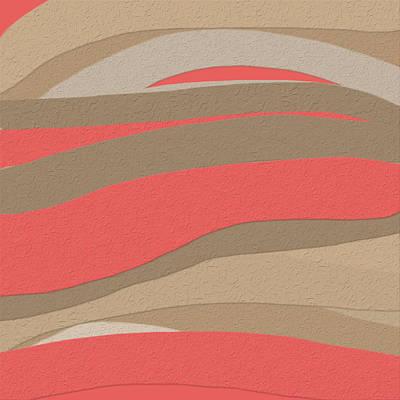 Desert Sunset Painting - Sahara Sunset by Bonnie Bruno