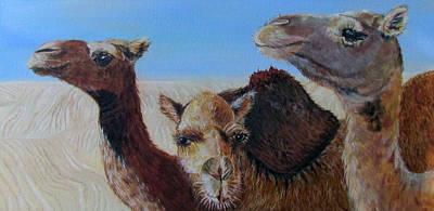 Painting - Sahara by Susan Duxter