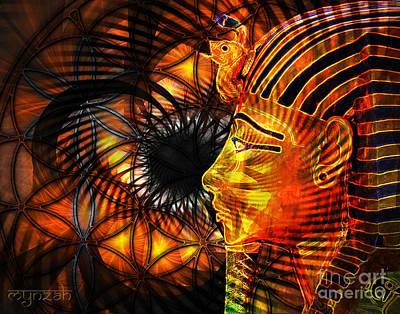 Digital Art - Sahu by Mynzah Osiris