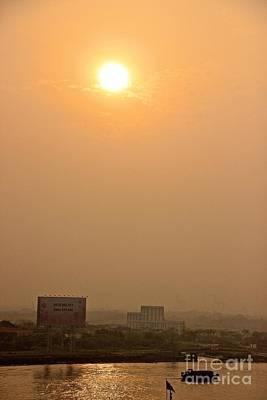 Photograph - Saigon Sunrise by David Warrington