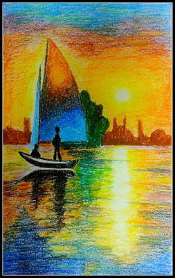 Pastel - Sail Across by Tanya Anurag