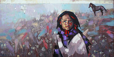 Painting - Sail  by Anastasija Kraineva