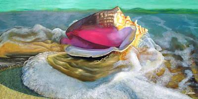 Bahamas Painting - Sail Away by Maritza Tynes