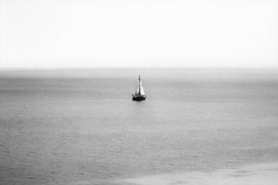 Art Print featuring the photograph Sail Away by Zoe Ferrie