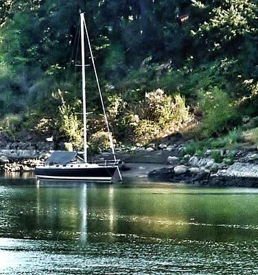 Photograph - Sail Boat 2 by Susan Garren