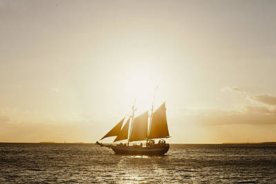 Photograph - Sail Boat On The Horizon by Scott Meyer