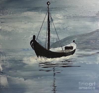 Painting - Sail-boat by Susanne Baumann