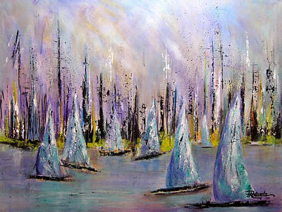 Painting - Sail II by Roberta Rotunda