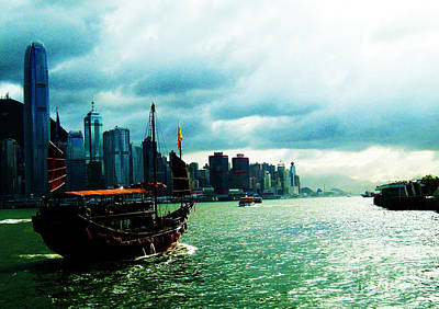 Wan Chai Photograph - Sail  by Laraine  C Photography