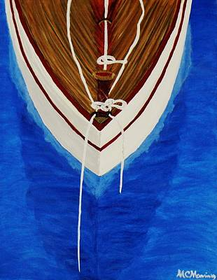 Art Print featuring the painting Sail On by Celeste Manning