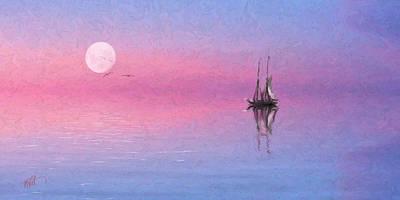 Cape Cod Digital Art - Sail On by Michael Petrizzo