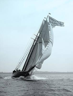 Historical Digital Art - Sail Racing by Gary Grayson